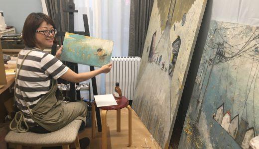 インタビュー#001 美術家アサノジュンコさんと愛すべき壁たち